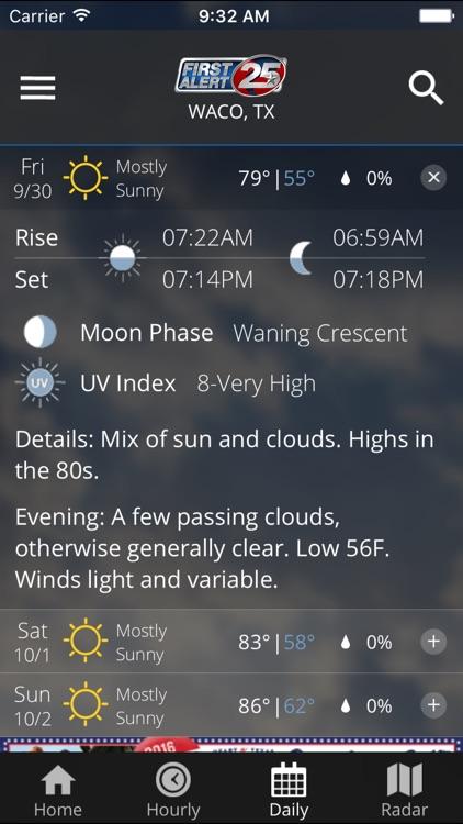 First Alert 25 Weather screenshot-4