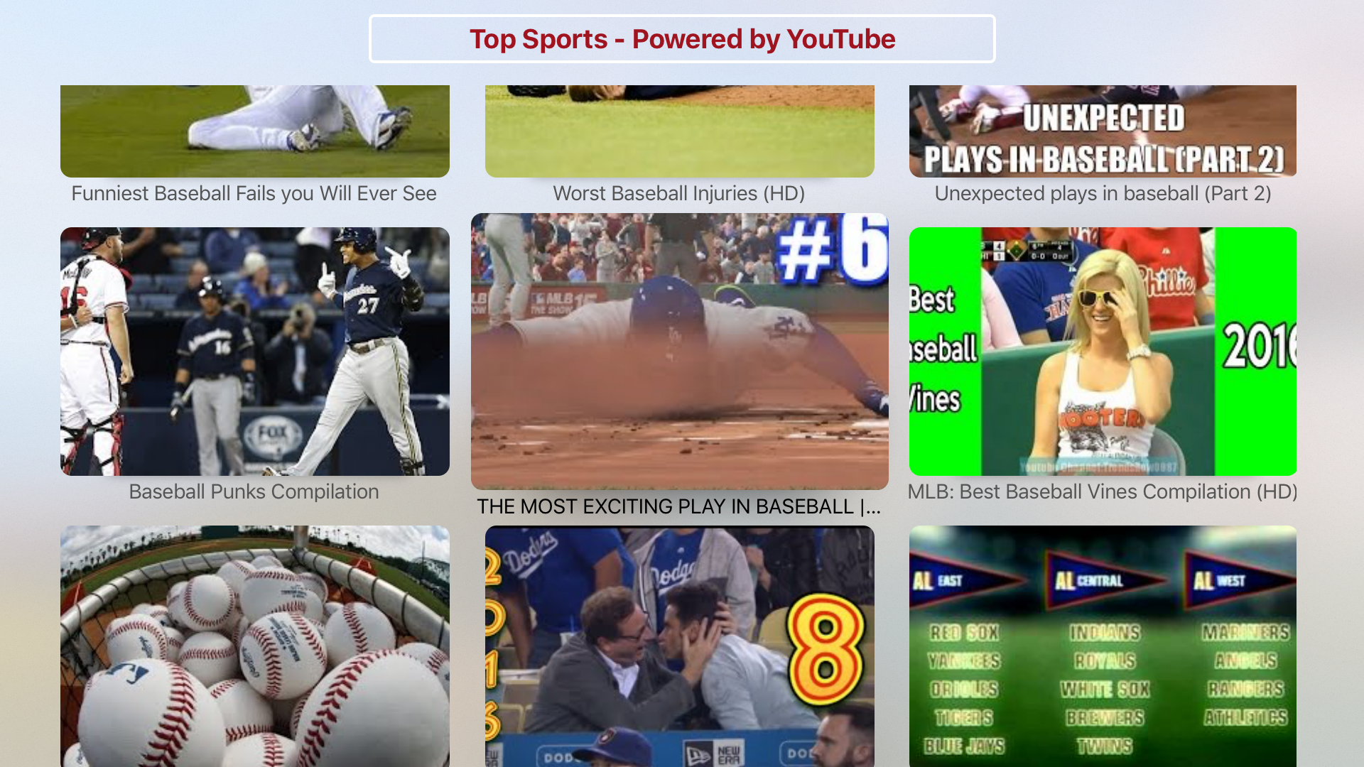 Sports Latest & Highlights - Powered by YouTube screenshot 2