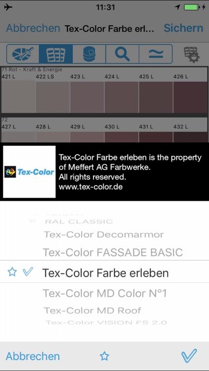 Tex-Color Farbstudio screenshot-3