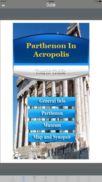 Acropolis & Parthenon Athens Tourist Travel Guide screenshot-3