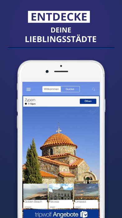 Zypern - Reiseführer & Offline Karte screenshot one