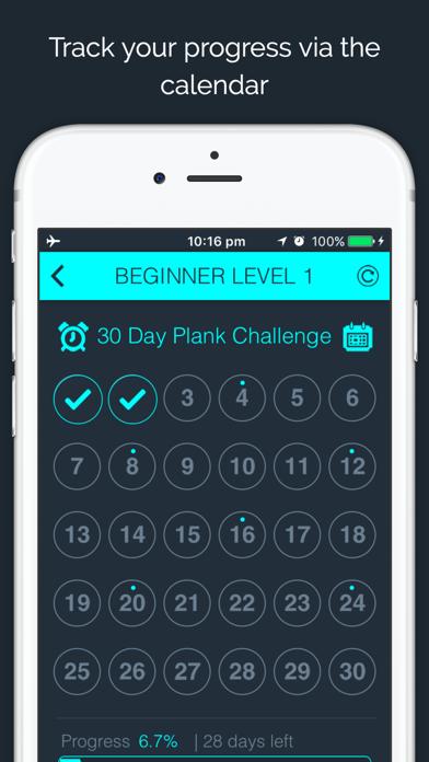 30 Day - Plank Challengeのおすすめ画像2