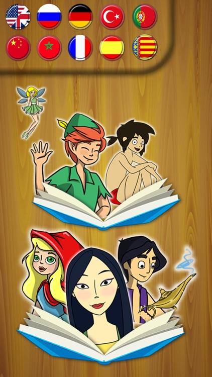 Classic fairy tales 3 interactive book - Premium screenshot-3