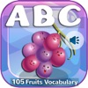 Abc Alphabet Fruits Vegetables For Toddlers & Kids