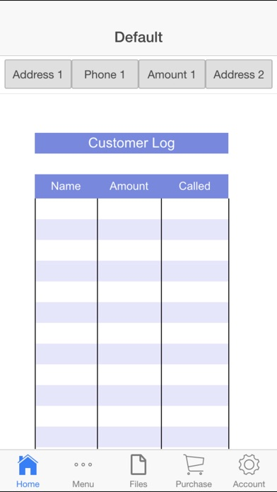 Customer Log review screenshots