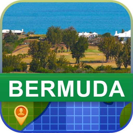 Offline Bermuda Map - World Offline Maps