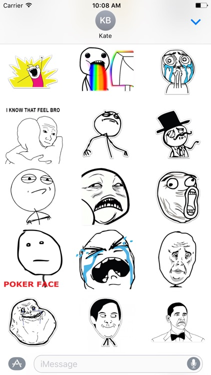 Rage Comics - Stickers Pack screenshot-1