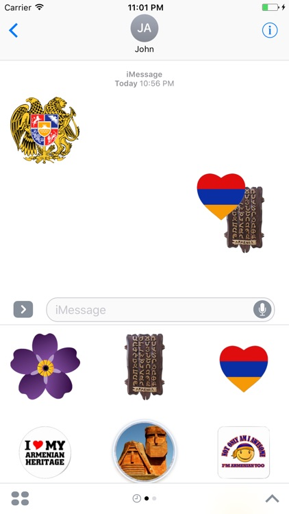 Armenian Stickers