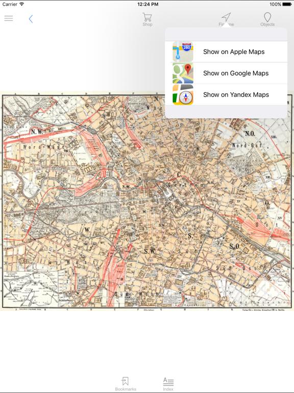 Berlin 1897  Historical Map  | App Price Drops
