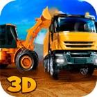 Construção Cidade carregador de caminhão Jogos 3D icon