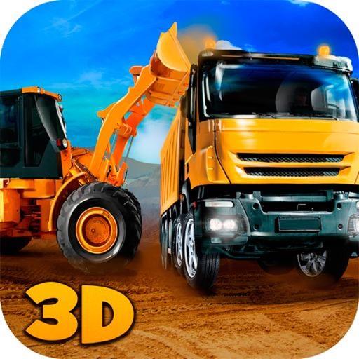 Строительство города грузовик погрузчик Игры 3D си