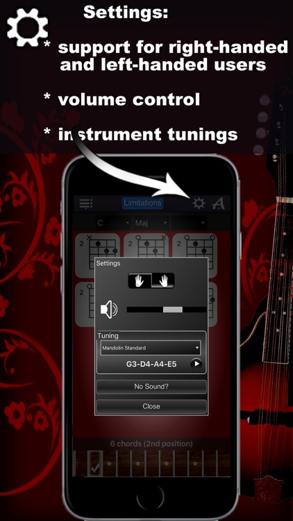 Mandolin Chords Compass Lite: lots of chord charts screenshot-4