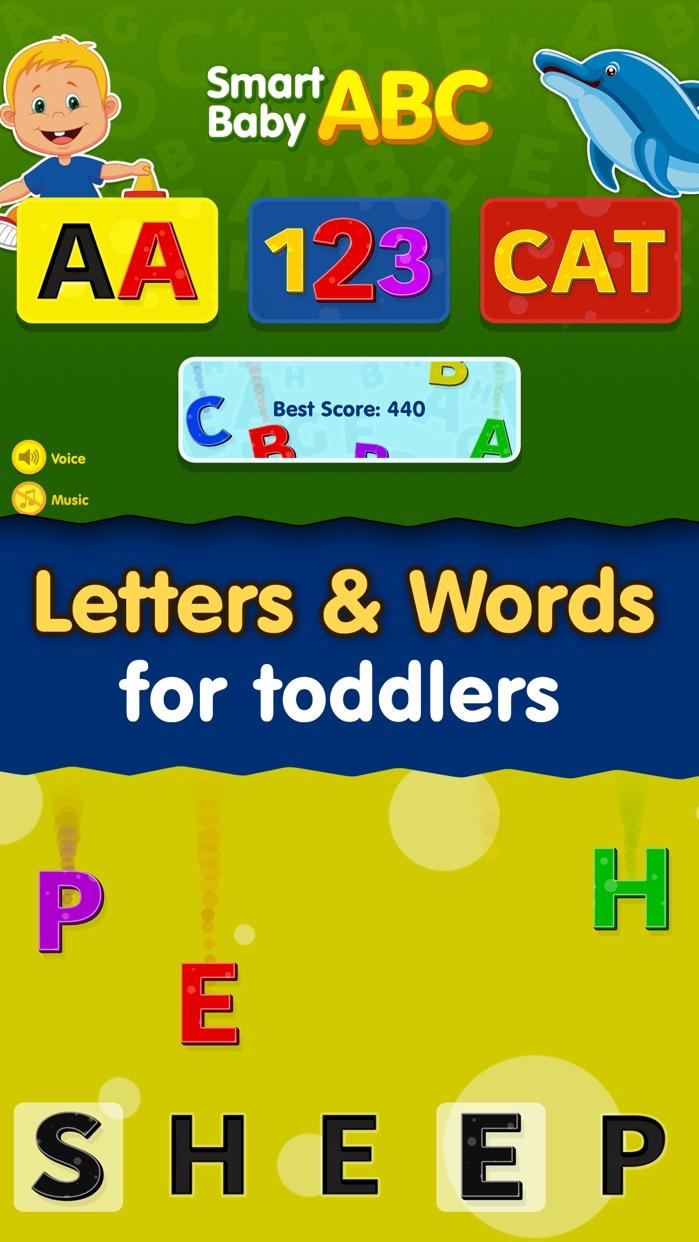 Kids ABC Games: Toddler Boys & Girls Learning Free Screenshot