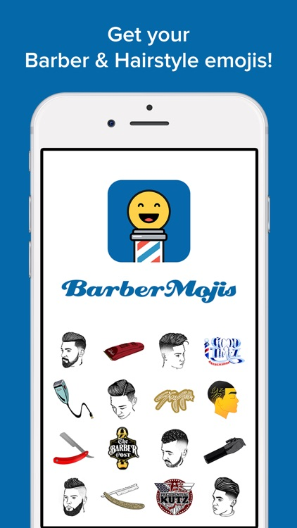 BarberMojis- Barbers & Hairstyles Emoji Stickers