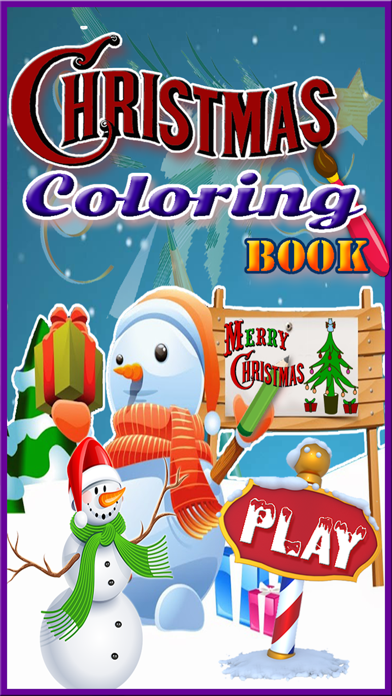WOW! Christmas Coloring pages for kids & Adult screenshot one