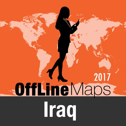 Iraq Offline Map and Travel Trip Guide