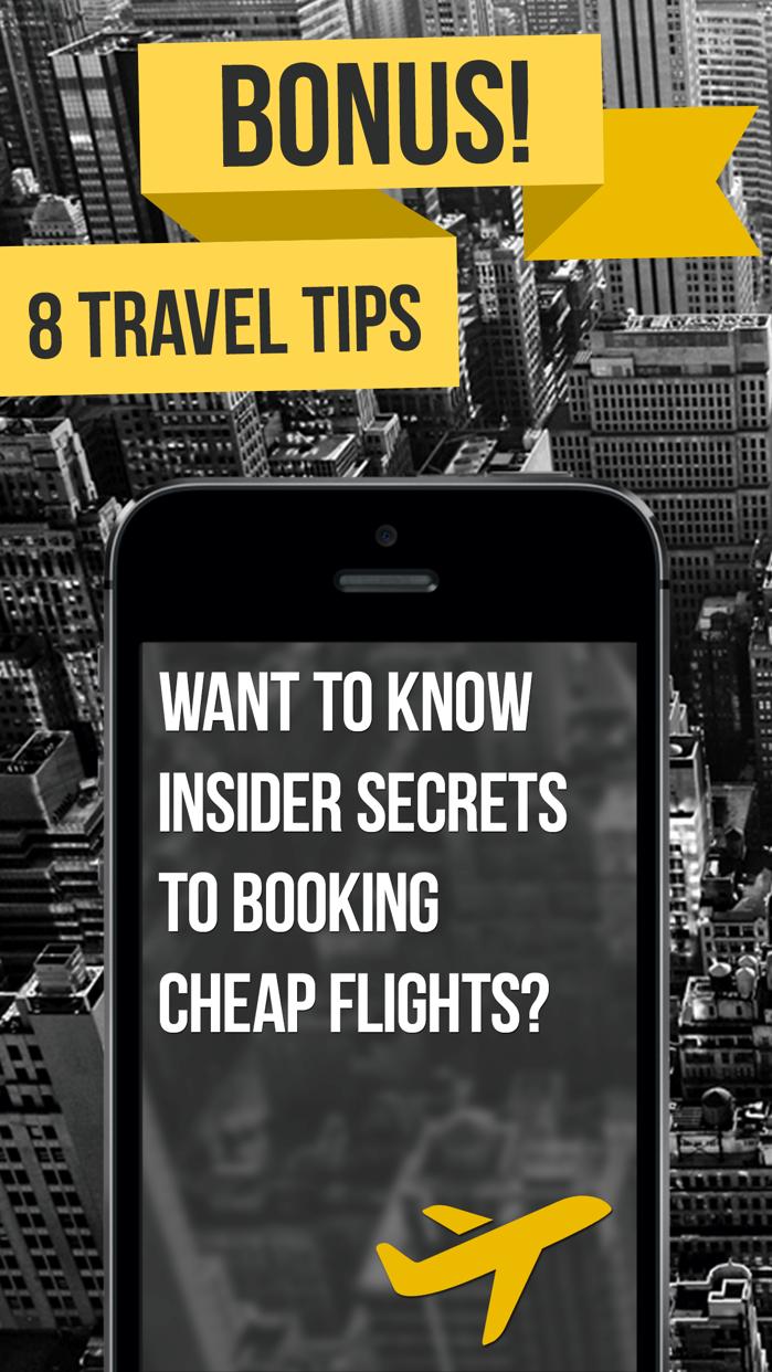 Last Minute - Best Airfare Deals! Search Cheap Flights 729 Airlines Screenshot