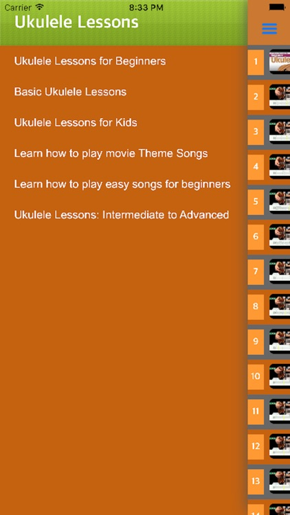 Play Ukelele - How to learn Ukelele with videos screenshot-4