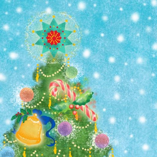 クリスマスツリー パステル版 -かわいいミニゲームで楽しむアドベントカレンダーアプリ-