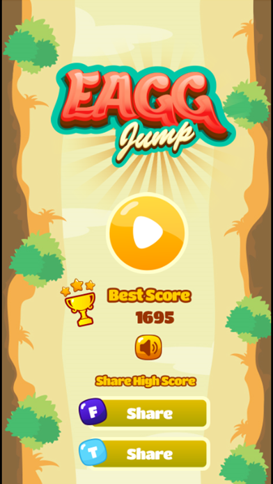 Egg Jump - Snail Doodle Special Fun Games For Free screenshot one
