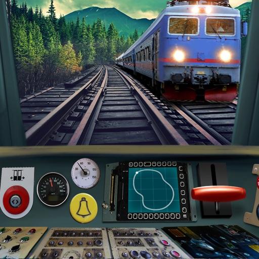 Водить Поезд 3D Симулятор