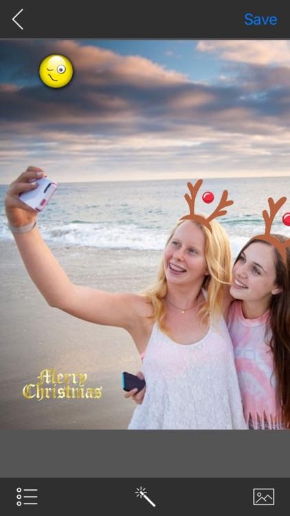 Holly Jolly Christmas Stickere screenshot-3
