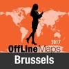 Brüssel Offline Karte und Reiseführer