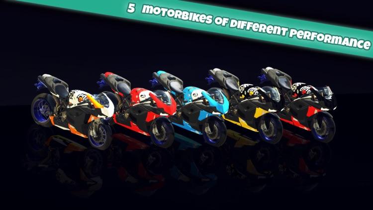 Motorbike Dubai City Driving Simultor 3D 2015 : Expensive motorbikes street racing by rich driver screenshot-3