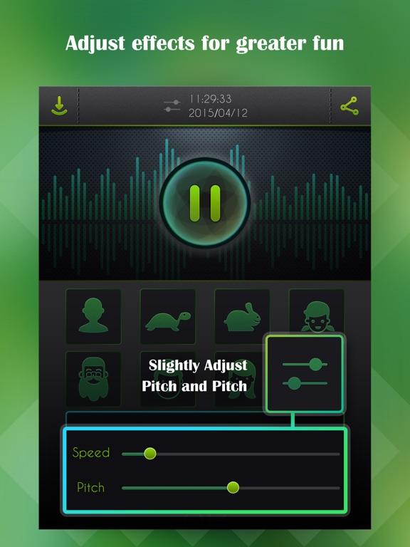 Voice Changer, Sound Recorder-ipad-1