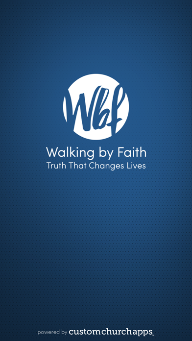 Walking by Faith screenshot one