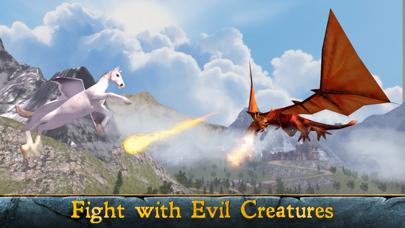 Flying Pegasus: Magic Horse Simulator 3D screenshot four