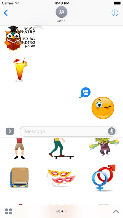 Erasmoji - Stickers for erasmus students screenshot-0