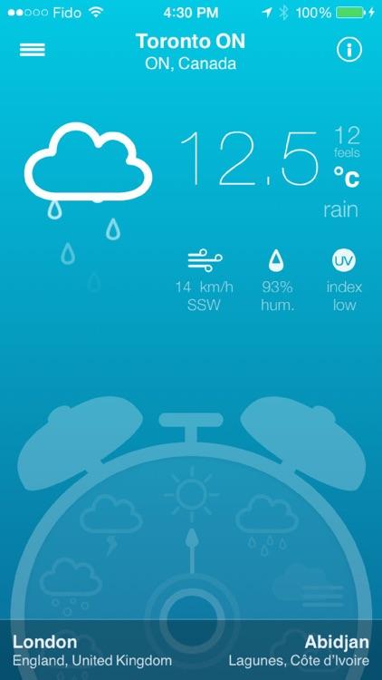 Weather Alarm | All seasons & forecast alerts screenshot-0