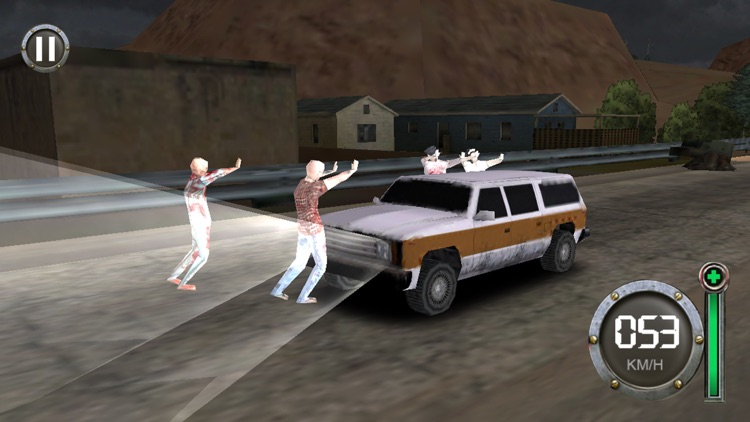 Zombie Escape-The Driving Dead screenshot-4