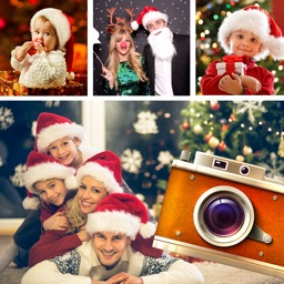 Christmas Frames Collage