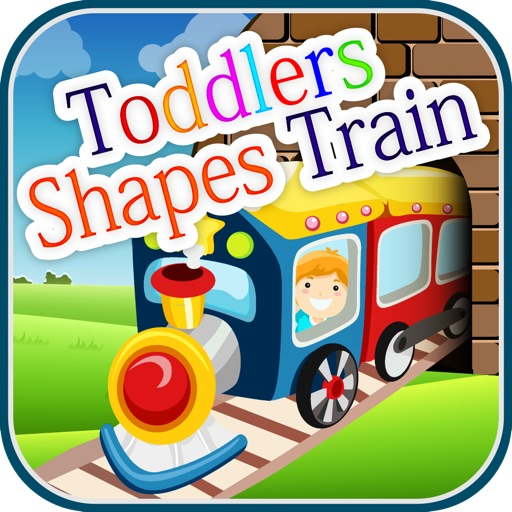 Toddlers Shapes Train