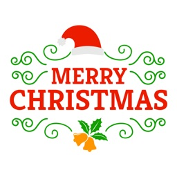 Christmas Typography - Christmas Wish Stickers