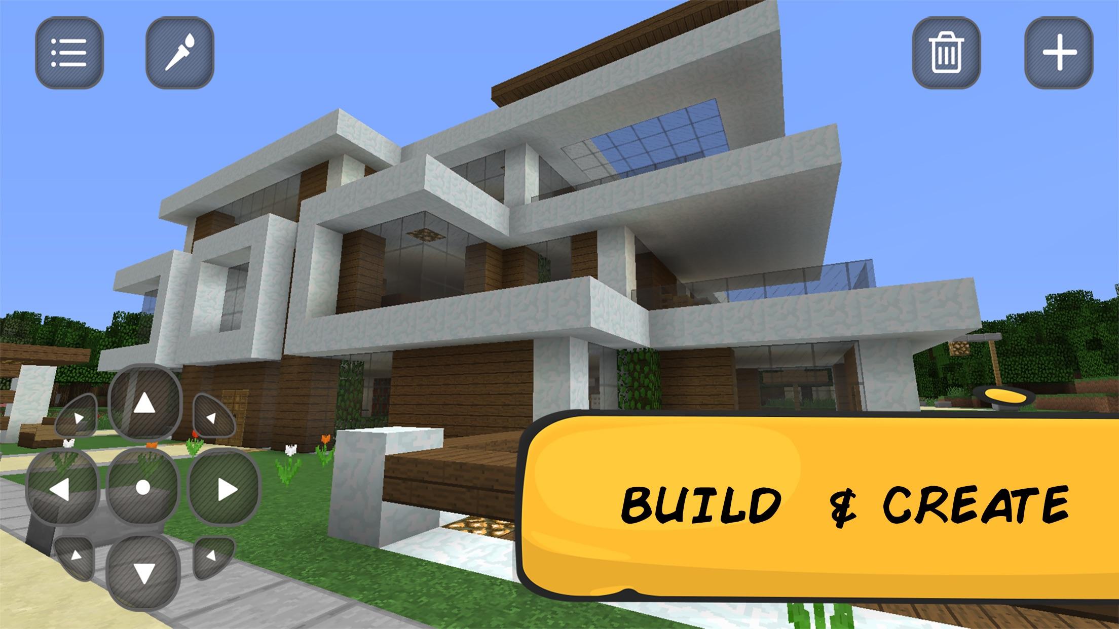 Pocket Mine Exploration: Lite Craft & Cube Build Screenshot