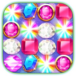 Jewels Link Puzzle Game - Awesome Jewel Mania