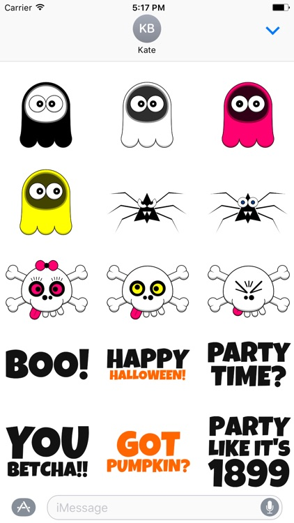 Spooky Things™ Halloween Stickers