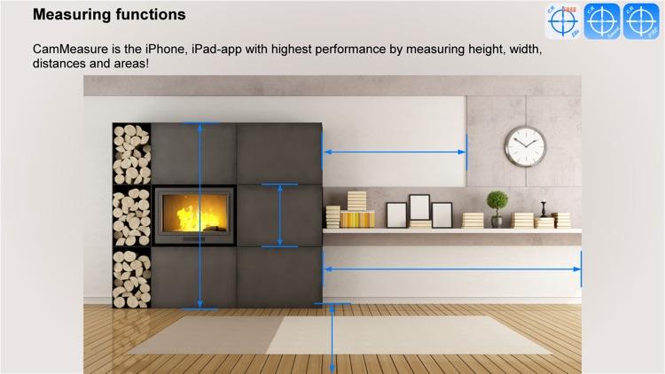CamMeasure Lite Measure height width distance area screenshot-3