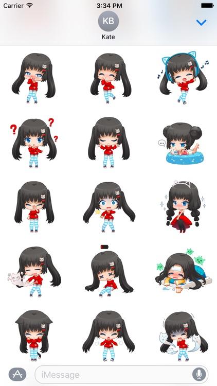 Nyao Nyanko Stickers screenshot-3