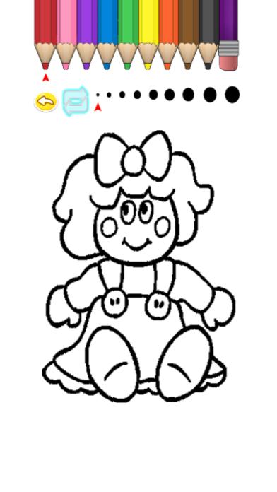 Kids Coloring Book - Nayuki screenshot three