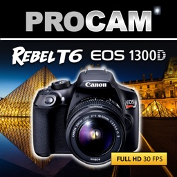 PROCAM for Canon T6 Rebel EOS 1300D