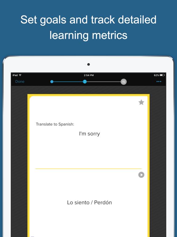 Speak Spanish - for Survival and Travel screenshot