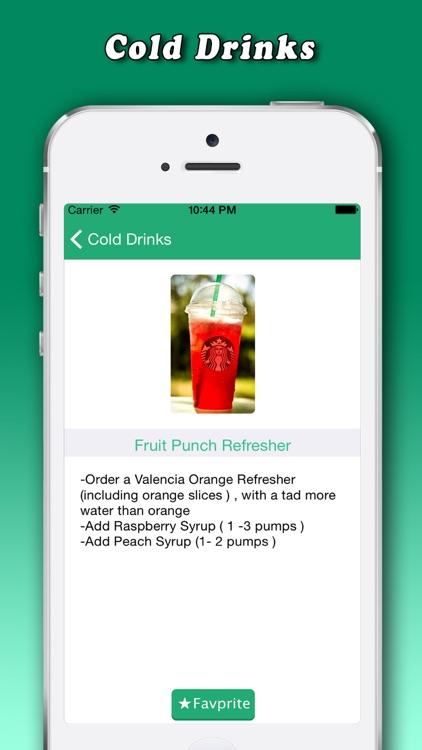 Secret Menu for Starbucks. screenshot-4