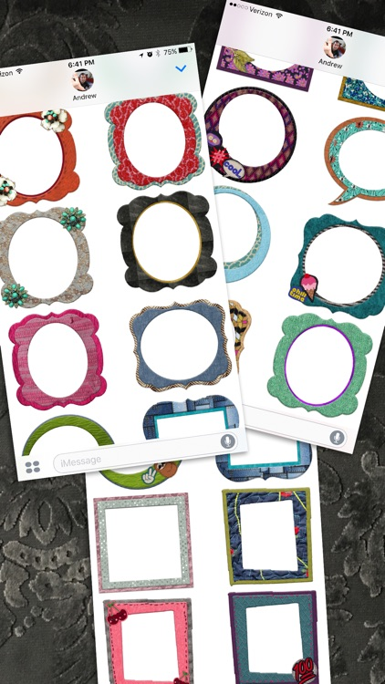 Awesome Craft Photo Frame Stickers screenshot-4