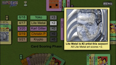 Screenshot #2 pour Reiner Knizia's Modern Art: The Card Game