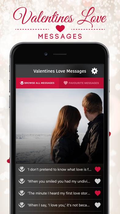 Valentines Love Messages screenshot one