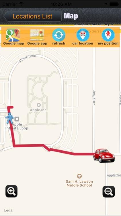 Keep My Car Location